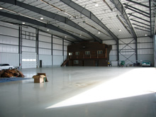 Corporate Aircraft Hangar Photo 3 - Click To Enlarge
