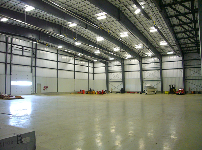 Corporate Aircraft Extra Large Hangar Driggs Reed