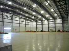 Corporate Aircraft Hangar Photo 2 - Click To Enlarge