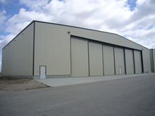 Corporate Aircraft Hangar Photo 5 - Click To Enlarge