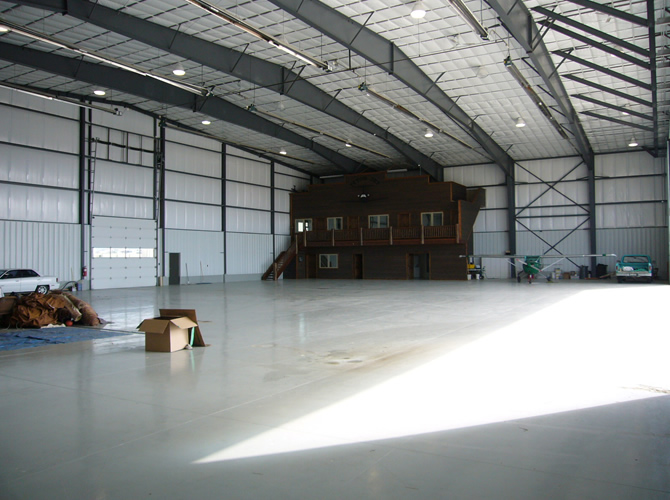 Corporate Aircraft Hangar Driggs Reed Memorial Airport