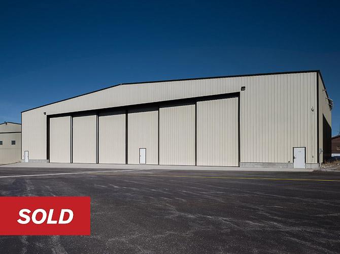 Corporate Aircraft Extra Large Hangar Driggs Reed